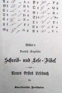 Witter's deutsch-englische Schreib- und Lese-fibel für amerikanische Freischule