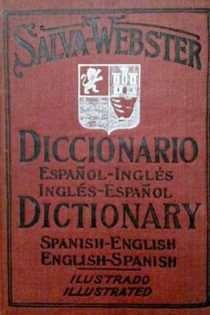 Salva-Webster English-Spanish and Spanish-English Dictionary