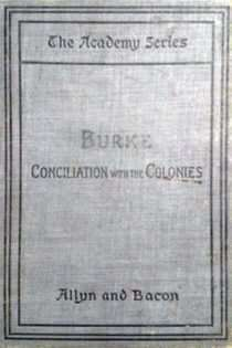 Conciliation with the Colonies