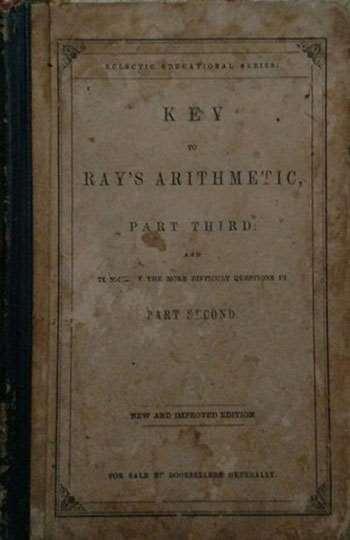 Ray's Arithmetical Key