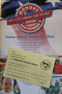 AFL-CIO Labor Day Picnic 2009