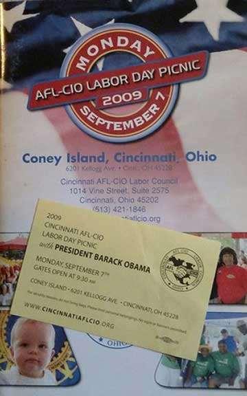 AFL-CIO Labor Day Picnic 2009