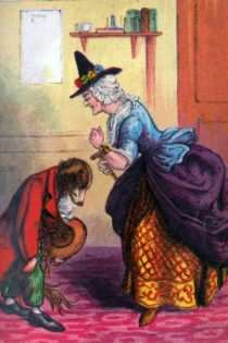Illustrations from Old Mother Hubbard