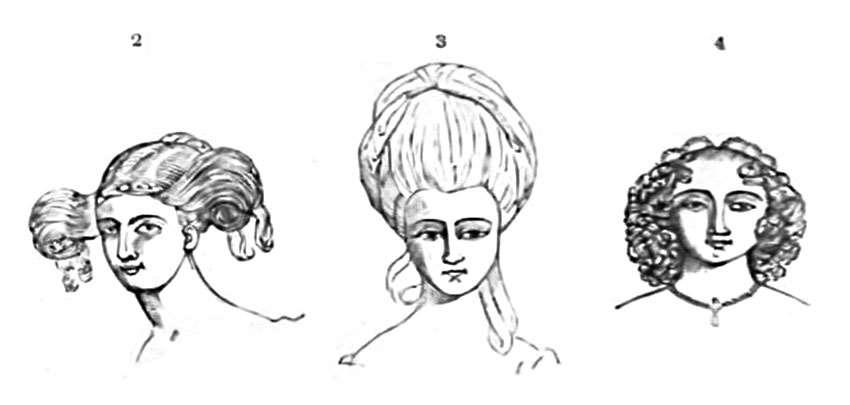 Hair Fashions of 1670