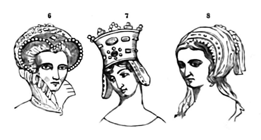 Mary Queen of England, Mary de Berri, wife of John Duke of Bourbon, and Anne Boleyn