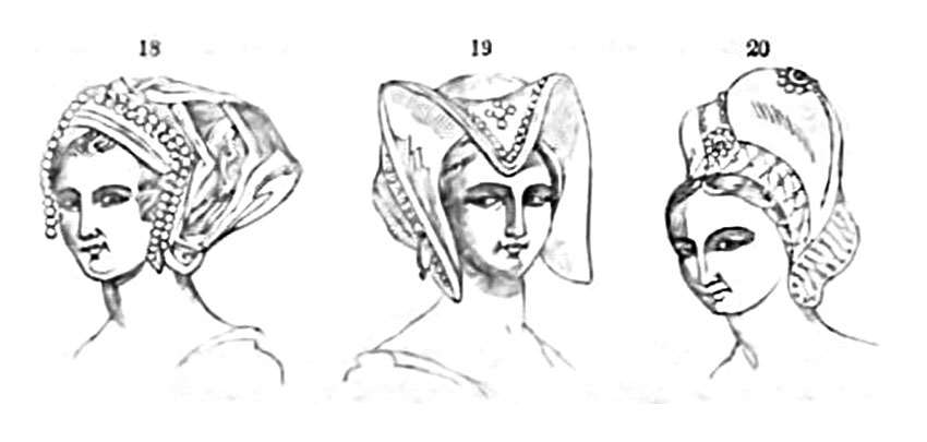 head-dresses in Luther's time