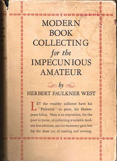 Modern Book Collecting for the Impecunious Amateur
