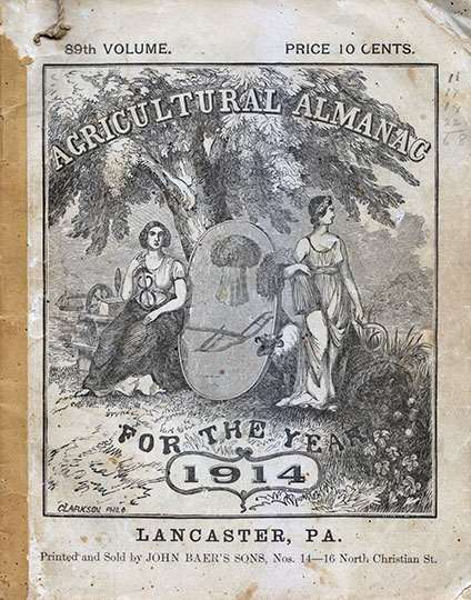 Agricultural Almanac for the Year 1914