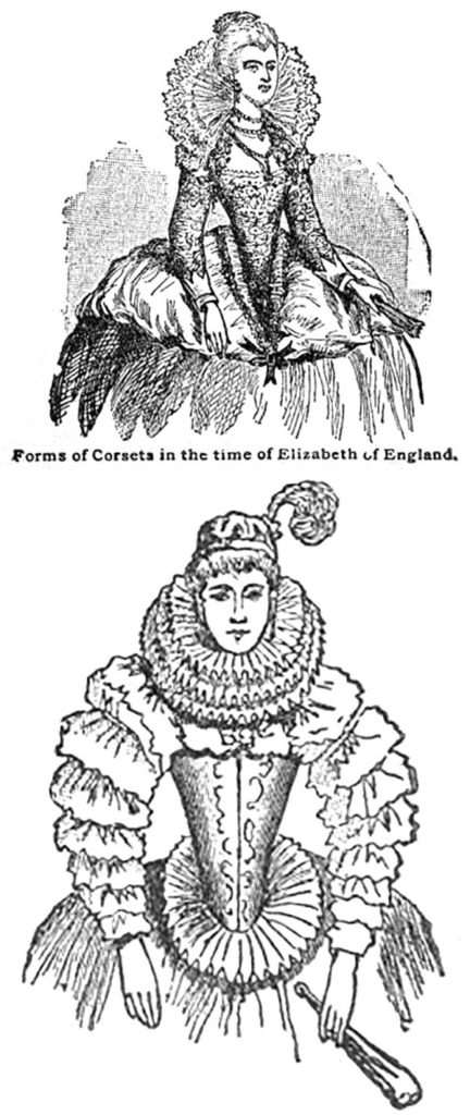 Corset in the time of Elizabeth of England