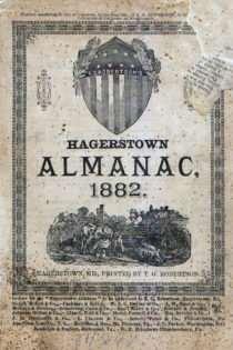 T.G. Robertson's Hagerstown Almanac 1882