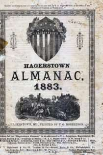 T.G. Robertson's Hagerstown Almanac 1883