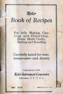 Taylor Book of Recipes