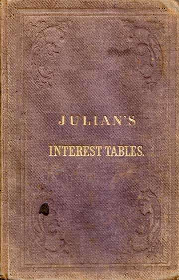 Julian's Interest Tables