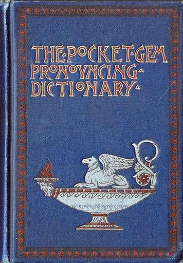 The Pocket Gem Pronouncing Dictionary