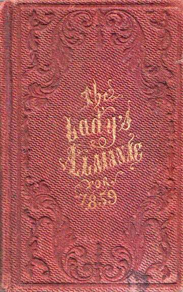 The Lady's Almanac for 1859
