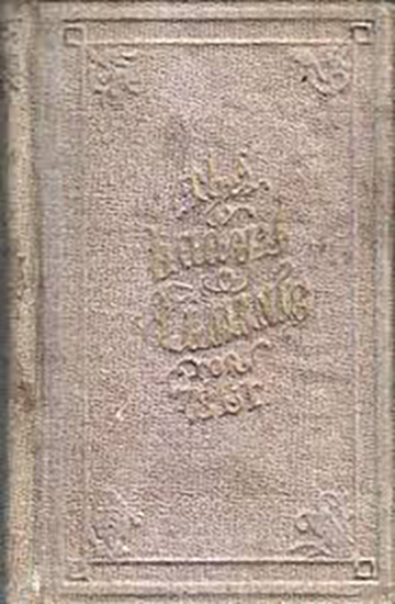 The Lady's Almanac for 1861