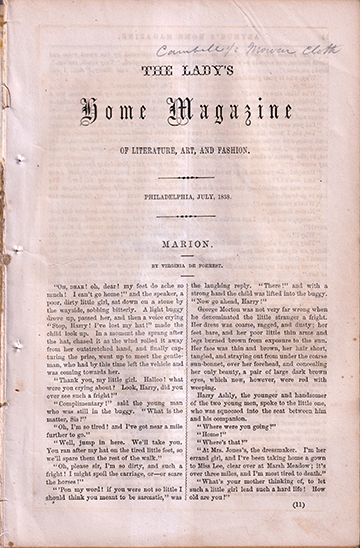 The Lady's Home Magazine