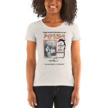 Alcohol T-shirt: The Curse of Drink | Edwardian Temperance, Prohibition, Booze, Drinking, Bar Ladies Shirt, Bartender Gift