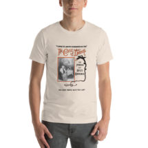 Alcohol T-shirt: The Curse of Drink | Edwardian Temperance, Prohibition, Booze, Drinking, Bar Unisex Shirt, Bartender Gift