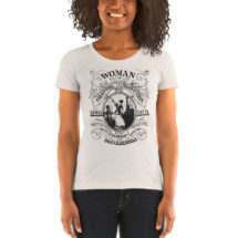 Feminist T-Shirt: Woman in Oratory, Elocution, Tragedy, Drama, Recitation, Reading, Tableau & Conversation, Ornate Victorian Womanhood Gift