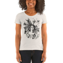 "Hairstyle T-Shirt: Edwardian ""Arranging the Hair"" Ladies Shirt 