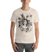 "Hairstyle T-Shirt: Edwardian ""Arranging the Hair"" Unisex Shirt 