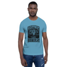 Quackery T-Shirt: Electric Bitters Pseudoscience Unisex Shirt | Victorian Medical Advertising, Patent Medicine Junk Science Gift Doctor Gift