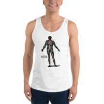 Anatomical Tank, Circulation | Anatomy Unisex Tank Top, Medical Gift, Blood, Science, Physiology, Cardiovascular, Doctor Gift