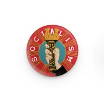 "Fancy Socialism 1.25"" Pinback Button 