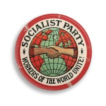 "Socialist Party 2.25"" Pinback Button 