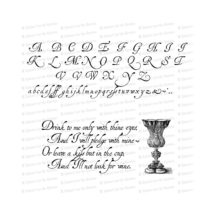 Vintage 17th Century Handwriting Alphabet Vector Clipart  | Antique Early Modern Uppercase & Lowercase Cursive Letters, Lettering SVG PNG