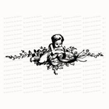 Vintage Cherub with Wedding Rings   Antique Victorian Wedding Clipart   Vector Romantic, Engagement, Flowers SVG PNG JPG