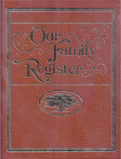 Our Family Register
